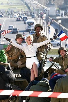 Paris Jackson during a shooting for Chanel in Paris
