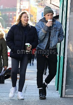 Chloe Grace Moretz gets a visit from boyfriend Brooklyn Beckham while she was filming scenes on a bi