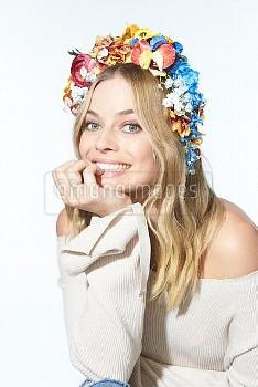 Margot Robbie Photographed by Mary Ellen Matthews