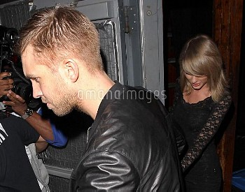 Taylor Swift & Calvin Harris Make It Official On Date To Troubadour