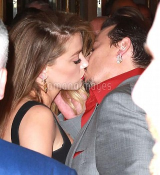 Amber Heard & Johnny Depp Have Called It Quits **FILE PHOTOS**