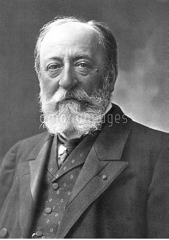 CAMILLE SAINT-SAENS (1835-1921). French pianist, organist and composer. Photographed by Nadar.