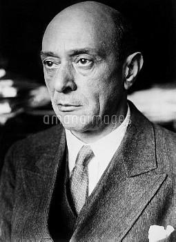 ARNOLD SCHOENBERG (1874-1951). Austrian composer.