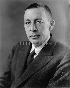 SERGEI RACHMANINOFF (1873-1943). Russian pianist, composer and conductor. Photograph, c1921.