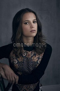 Alicia Vikander by Headpress