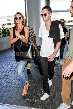 Miranda Kerr, Evan Spiegel,Miranda Kerr & Billionaire Boyfriend  Evan Spiegel All Smiles As They Cat