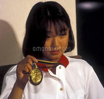 オリンピック  第25回バルセロナ大会(スペイン 1992年) 水泳/競泳 女子/200m平泳ぎ 金メダル 岩崎恭子(JPN) クレジット:フォート・キシモト 1992年7月25日-8月9日  Oly