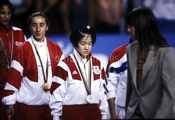 オリンピック  第25回バルセロナ大会(スペイン 1992年) 柔道 女子/-48Kg級・銀メダル 田村亮子(日本) (谷亮子) クレジット:フォート・キシモト 1992年7月25日-8月9日  Ol