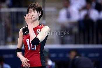 オリンピック 第30回オリンピック競技大会(2012/ロンドン) バレーボール 女子3位決定戦  日本 vs 韓国  木村沙織 (JPN)  アールズ・コート/ロンドン/イギリス クレジット:フォート