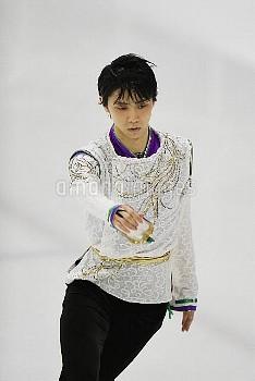 フィギュアスケート オータムクラシックインターナショナル2017 男子シングル FS 羽生結弦 (JPN) Sportplexe/モントリオール/カナダ クレジット:大内翔太/フォート・キシモト 20