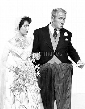 FATHER OF THE BRIDE [US 1950]  ELIZABETH TAYLOR, SPENCER TRACY     Date: 1950