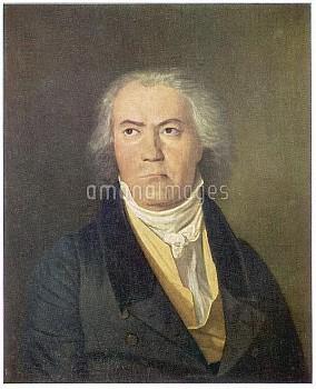 LUDWIG VAN BEETHOVEN German composer  Portrait        Date: 1770 - 1827