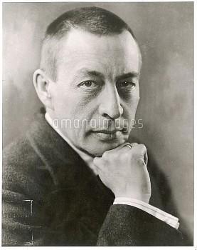 SERGEI RACHMANINOV  Russian composer.        Date: 1873 - 1943
