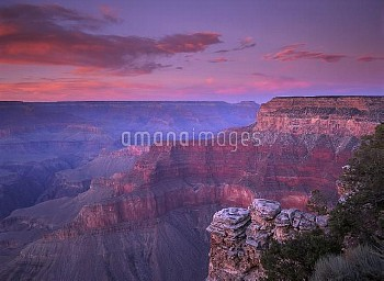 View of the South Rim from Pima Point, Grand Canyon National Park, Arizona