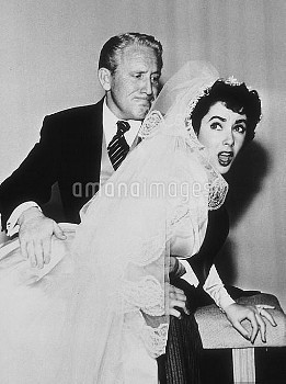 """Father of the Bride"" Spencer Tracy and Elizabeth Taylor 1950 MGM **R.C. MPTV"