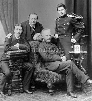 Tchaikovsky, Apukhtin, Kartsev and Zhedrinsky