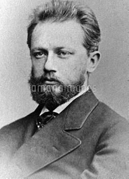 Russian composer Pyotr Tchaikovsky