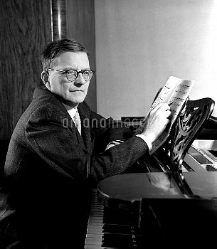 Composer Dmitry Shostakovich