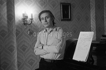 Russian composer Alfred Schnittke