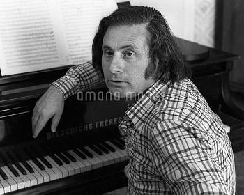 Soviet composer Alfred Schnittke