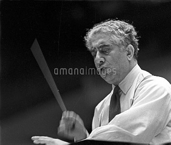 Aram Khachaturian conducting