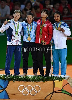2016 Summer Olympics. Judo. Day One