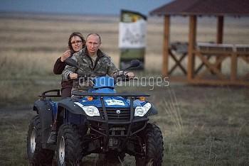 President Vladimitr Putin visits Orenburg Region