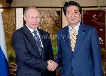 Russian President Vladimir Putin's official visit to Japan
