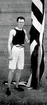 USA's James B Connolly, gold medallist
