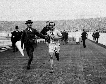 APRIL 6th: On this day in 1896, the first modern Olympics began in Athens. Pictured here is the Amer