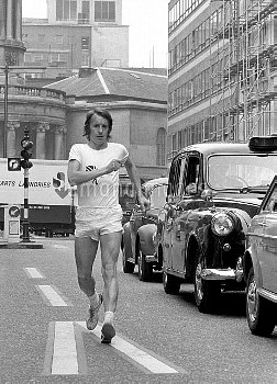 Peter Marlow, one of the 20km walkers for the Munich Olympics.