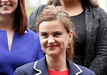 Previously unreleased photo dated 12/05/15 of Labour MP Jo Cox, who has been shot in Birstall near L