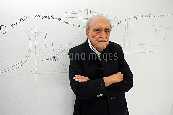 September 29, 2005, Rio De Janeiro, Brazil: Just days before his 100th birthday, Brazilian architect