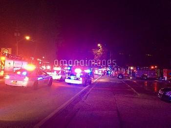 June 12, 2016 - Orlando, Florida, United States: Shooting at Pulse Nightclub on S Orange. Multiple i