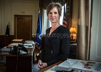 May 15, 2015 - Washington, DC, United States: Deputy Attorney General Sally Yates, in her office at