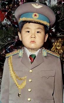 Undated - North Korea: Childhood photos of Kim Jong-nam eldest son of Kim Jong-il, leader of North K