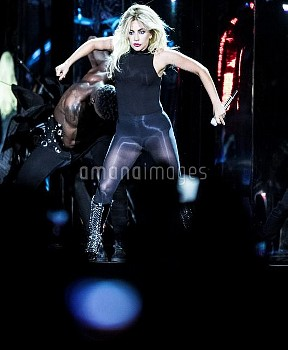 April 15, 2017 - Indio, California, United States: Musician Lady Gaga performs during weekend one of
