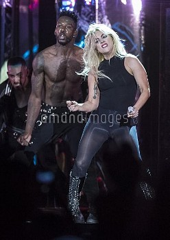 April 15, 2017 - Indio, California, United States: Lady Gaga onstage at the Coachella Music and Arts