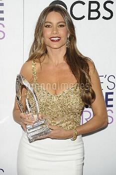Sofia Vergara,PEOPLE'S CHOICE AWARDS: PRESSROOM