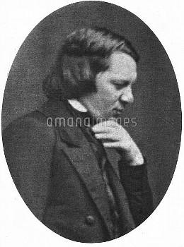 Robert Schumann (1810-1856), German composer.