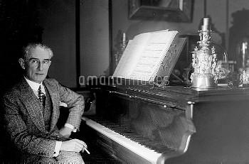 Maurice Ravel (1875-1937), French composer.     LIP-16373