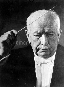 Richard Strauss (1864-1949), German composer and conductor.