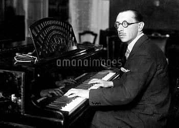 Igor Stravinski (1882-1971), Russian composer.