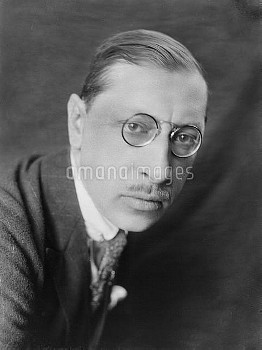 Igor Féodorovitch Stravinski ( 1882-1971 ), French naturalized Russian composer, then American. pari