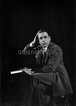 Francis Poulenc (1899-1963), French composer. Paris, circa 1930.