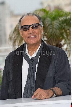"Abbas Kiarostami at the photocall of ""Like Someone in Love"", directed by Abbas Kiarostami, during th"