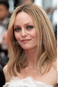 Vanessa Paradis attends the closing ceremony of the 69th annual Cannes Film Festival at the Palais d
