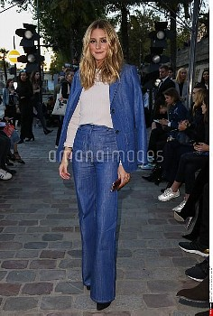 Olivia Palermo attends the Paul & Joe show as part of the Paris Fashion Week Womenswear Spring/Summe