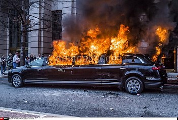 Hours after Donald Trump was swore in as the 45th President of the United States, On January, 20, 20