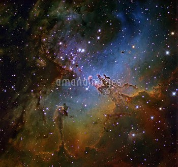 Eagle Nebula (NGC 6611), optical image